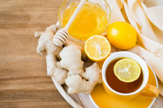 ingefær med honning