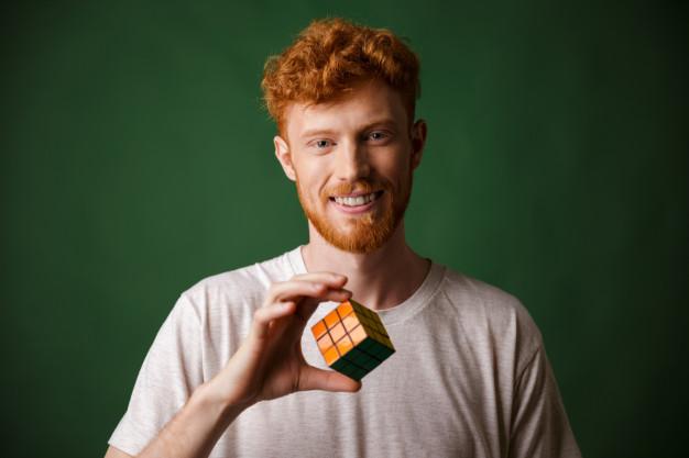 rubiks kube der er løst