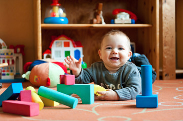 baby leger i kravlegård